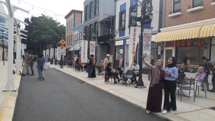 Mengunjungi Broadway Ala Tangsel di Alam Sutera, Tempat Nongkrong Instagramable untuk Berfoto Ria