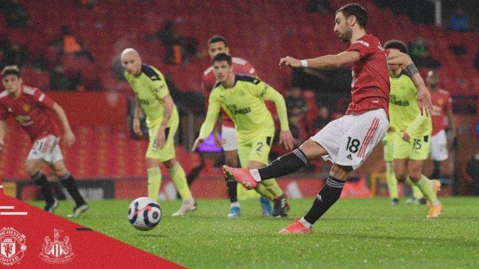 Hasil Liga Inggris: Man United Benamkan Newcastle 3-1, Marcus Rashford Jadi Momok