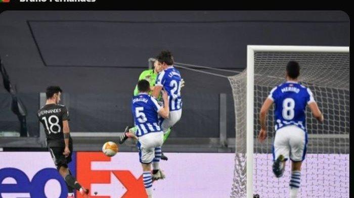Hasil Liga Europa: Man United Hancurkan Real Sociedad 4-0, Bruno Fernandes Cetak 2 Gol