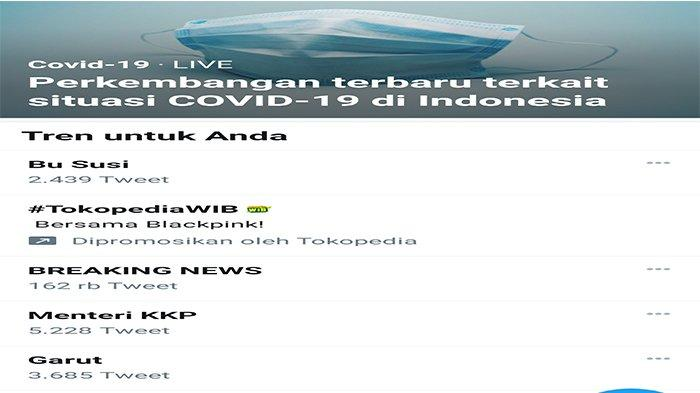 Menteri KKP Edhy Prabowo Diringkus KPK, Hashtag Bu Susi Jadi Trending Topik di Twitter