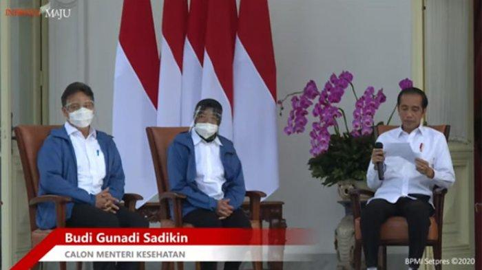 Presiden Jokowi Lantik 6 Menteri Baru Kabinet Indonesia Maju Rabu Pon, Apa Maknanya ?