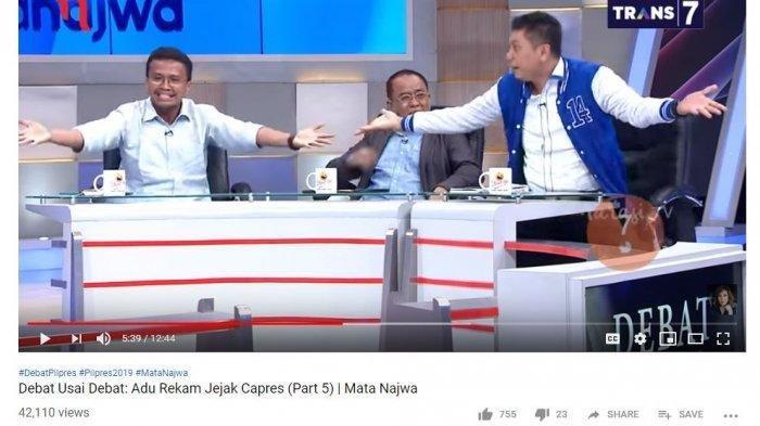 Budiman Sudjatmiko Bahas Rekam Jejak Jokowi, Aksi Kompak Jansen Sitindaon & Faldo Maldini Buat Heboh
