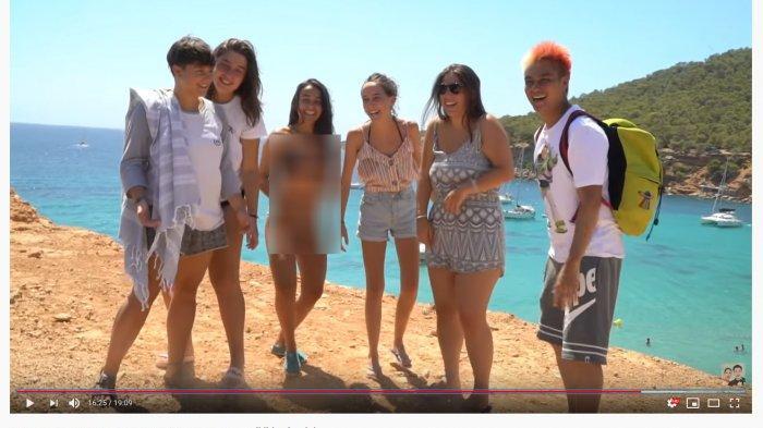Dianggap Unik Karena Hal Ini, Baim Wong Sampai Diminta Foto Bareng 5 Wanita Bule di Spanyol