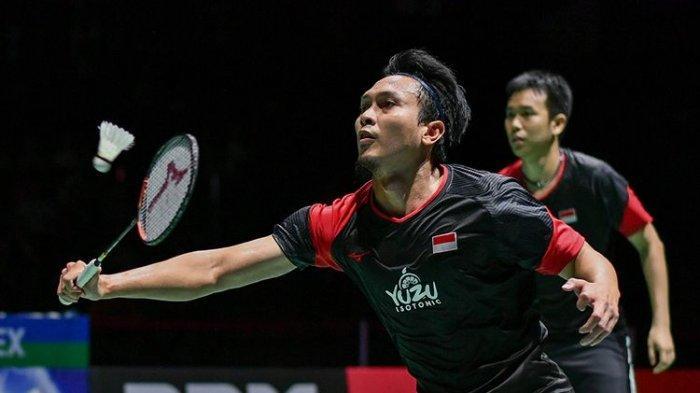 BWF World Tour Finals 2019: Ahsan/Hendra Raih Kemenangan Perdana Usai Kalahkan Wakil Malaysia