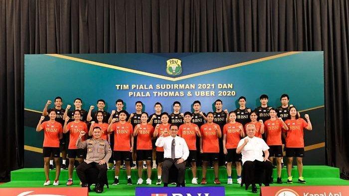 Jadwal Piala Sudirman 2021, Tim Bulu Tangkis Indonesia Berlaga Hari Minggu Hadapi Rusia