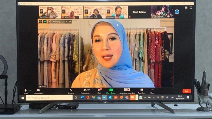 UMKM Bumi Alumni Menggelar Digital Fashion di Era Pandemi