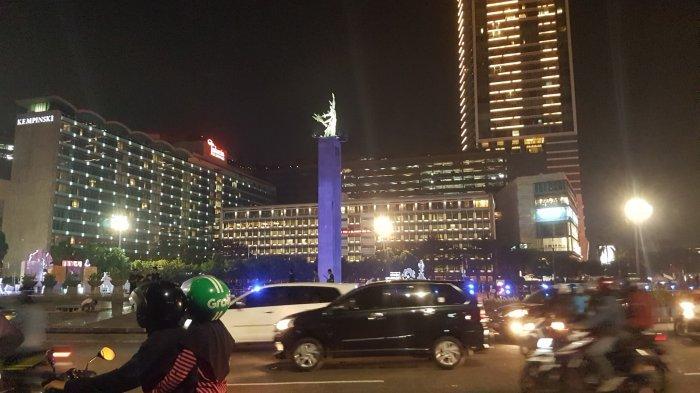 Larang Takbiran Keliling, Polisi Siapkan Titik Filter di Sudirman-Thamrin hingga Crowd Free Night