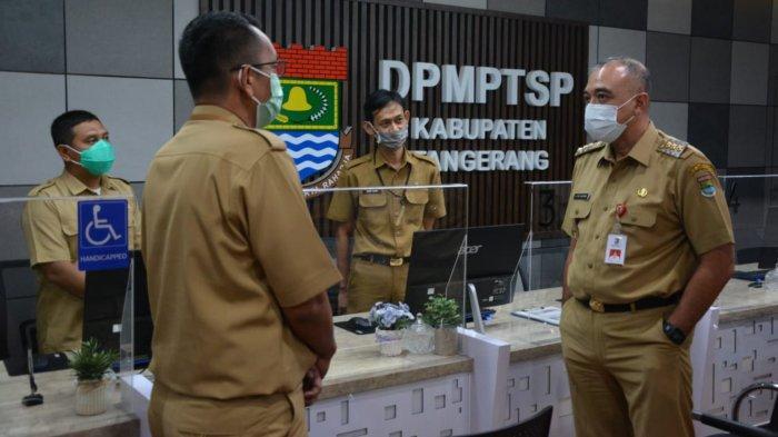 Hari Pertama Masuk Usai Libur Panjang, Bupati Tangerang Sidak Fasilitas Kesehatan Covid-19