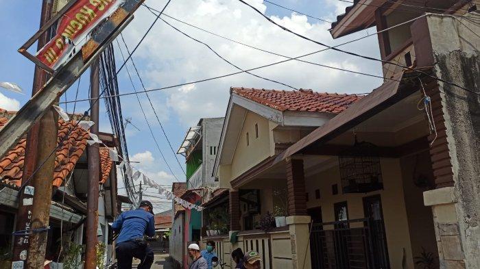 Burung Gereja Terlilit Benang Layangan di Tiang Listrik, Damkar Pasar Minggu Evakuasi Pakai Bambu