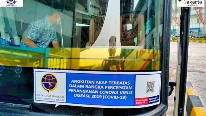 Operasional Bus AKAP Terbatas di Jakarta Tetap dari Pukul 06.00-18.00 WIB