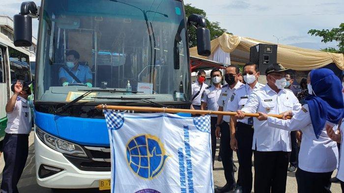 Jemput Sampai ke Permukiman Warga, Pemkot Depok Luncurkan Bus Rapid Transit dan Jabodetabek