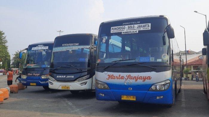 16 Bus AKAP Layani Penumpang dengan Keperluan Mendesak di Hari Pertama Larangan Mudik Kemarin