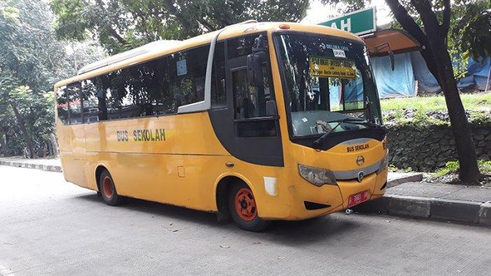 Bus Sekolah TRIBUNJAKARTA.COM/SATRIO SARWO TRENGGINAS