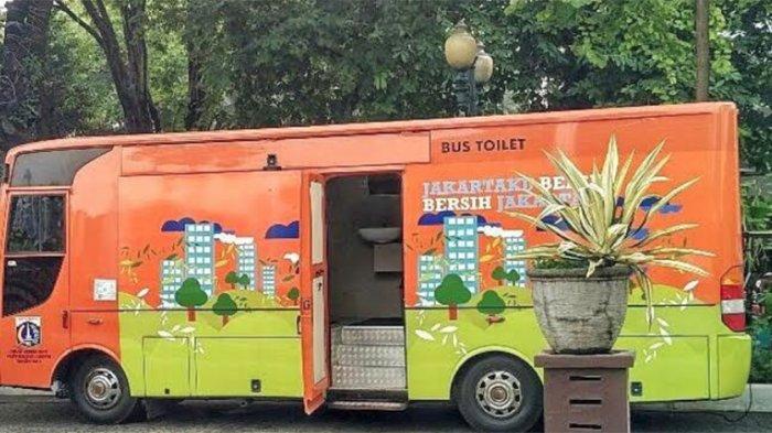 Persiapan Malam Pergantian Tahun, Pemprov DKI Siapkan 29 Bus Toilet Gratis, Ini Lokasinya
