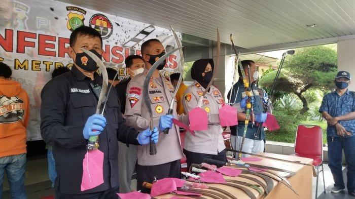 Remaja di Tangerang Tawuran Pakai Busur Raksasa hingga Trisula: Barang Didapat Secara Online