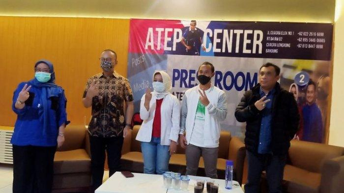 Calon Bupati dan Wakil Bupati Bandung Yena-Atep