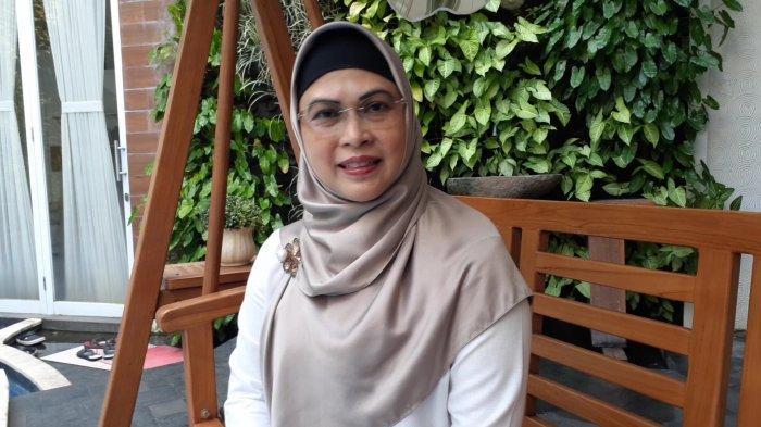Calon Wali Kota nomor urut 2, Siti Nur Azizah,di kediamannya di Kompleks Graha Taman, Bintaro Sektor 9, Pondok Aren, Tangsel, Rabu (9/12/2020).
