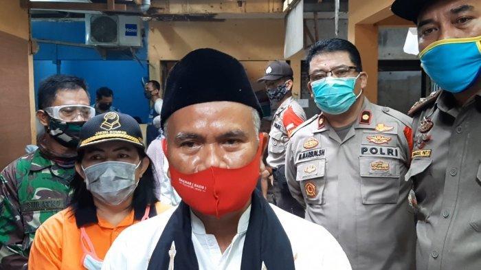 Camat Cilandak Sebut Tak Ada Pedagang Tolak Tes Swab Covid-19 di Pasar Tempel Pondok Labu