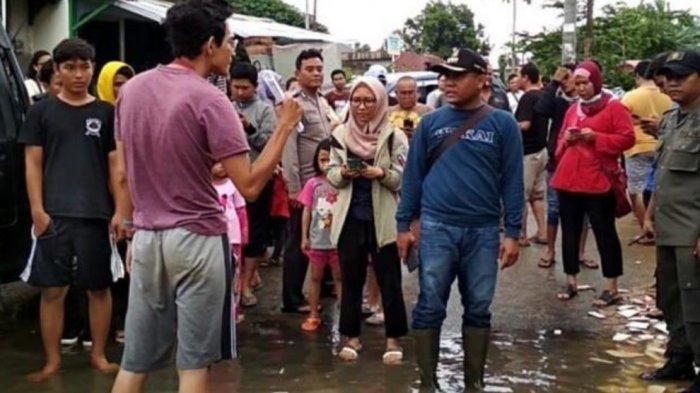 VIRAL di Medsos Pejabat di Tangerang Marahi Relawan Banjir yang Bertugas karena Alasan Sepele