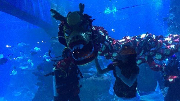 Cap Go Meh, Tempat Wisata Ini Tawarkan Kejutan Bawah Air