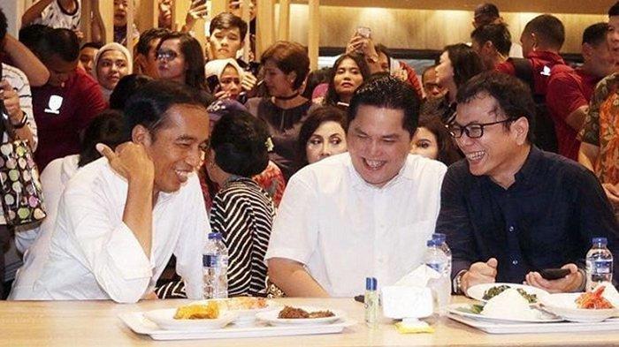 Curi Perhatian di Mal GI, Jokowi Ungkap Alasan Isi Akhir Pekan Bersama Wishnutama dan Erick Thohir