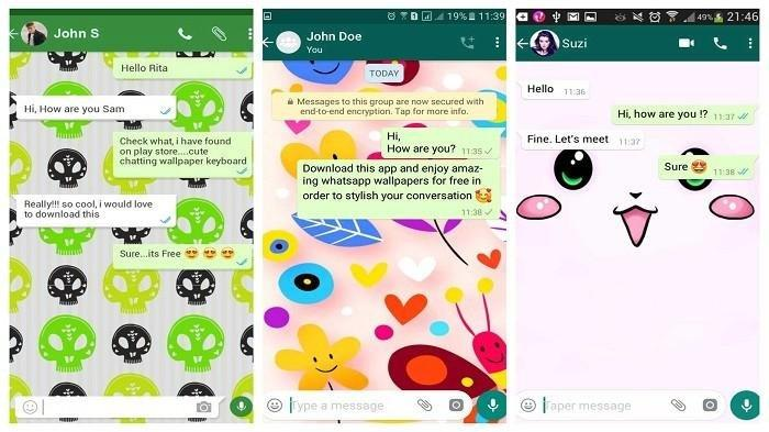 5 Langkah Mengubah Tampilan Wallpaper Chat di Whatsapp Agar Berbeda Tiap Kontaknya
