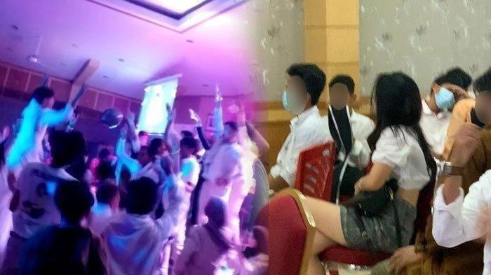 Digelar di Kantor Bupati, Perpisahan SMA Dibuat Bak Pesta Diskotek, Pesertanya Berpakaian Seksi