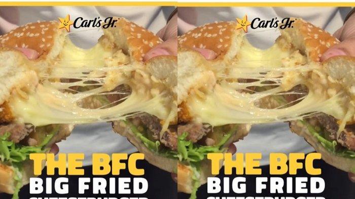 Menu Baru Carl's Jr, Burger dengan Lelehan Topping Keju yang Bakal Manjakan Lidah Anda