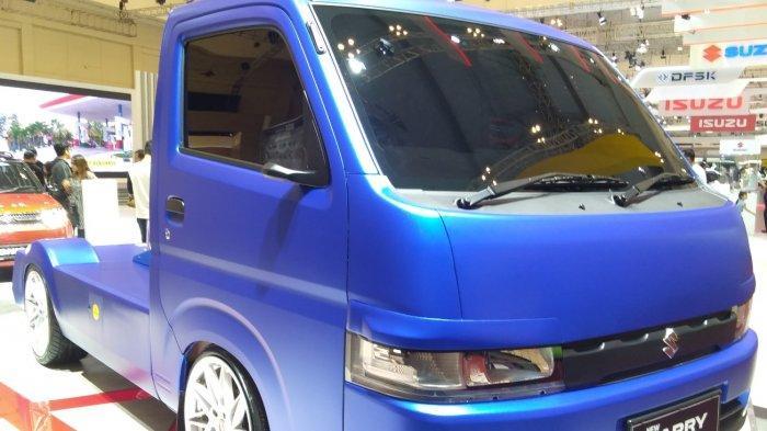 Suzuki Pamerkan New Carry Pick Up Fluzh Concept di GIIAS 2019, Pengunjung: Keren!