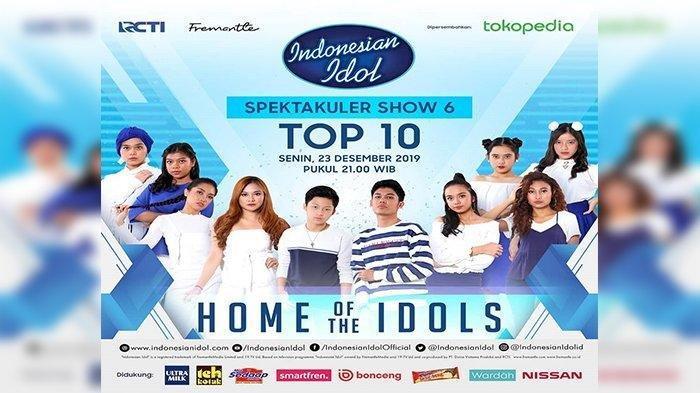 SEDANG BERLANGSUNG Indonesian Idol Top 10: Ariel Noah dan Armand Juri Tamu, Live Streaming
