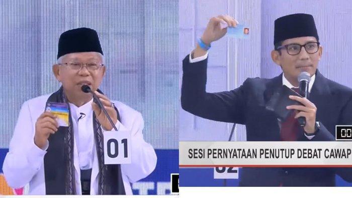 TERPOPULER- Effendi Ghazali Sebut Sandiaga Ungguli Maruf di Debat, Pembawa Acara: Dibayar Berapa?