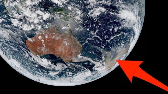 Titik Api dan Asap Kebakaran Hutan Australia Terlihat hingga Luar Angkasa, Begini Penampakannya