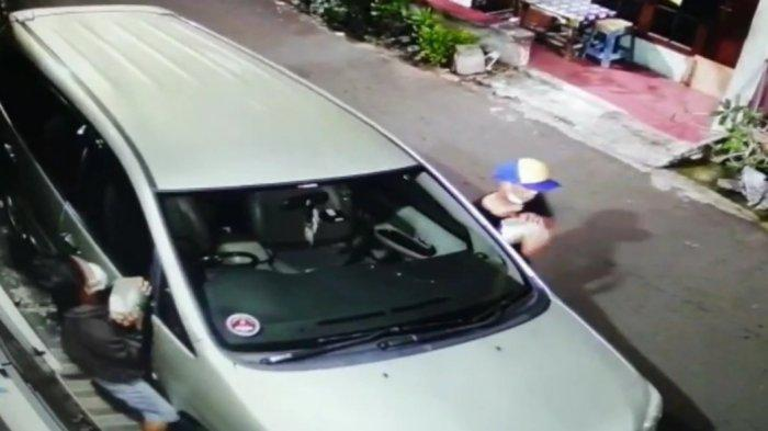 Hanya 16 Detik, Komplotan Pencuri Gasak Spion Mobil Warga Pulogadung