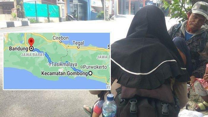 Kisah Satu Keluarga Mudik Jalan Kaki ke Bandung, Bawa Balita, Kerap Beristirahat di SPBU atau Masjid