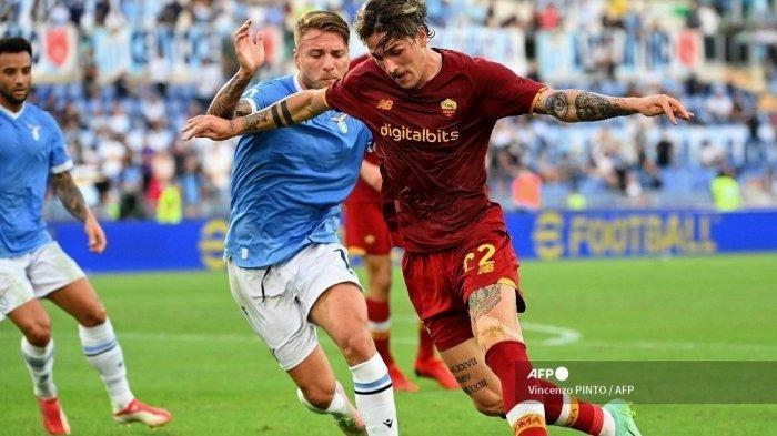 Hasil Liga Italia: Duel Lazio vs AS Roma Berakhir 3-2, Barisan Pertahanan Mourinho Babak Belur