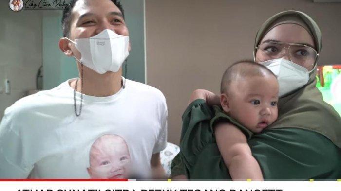 Citra Kirana Panik Dengar Bayinya Nangis saat Sunat, Rezky Aditya Tegang: Rasanya Kayak Pas Lamaran