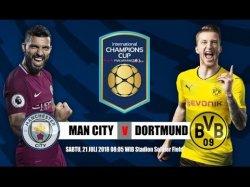 Ini Susunan Pemain Manchester City vs Borussia Dortmund