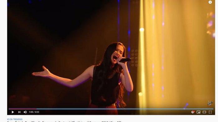 Trending 3 YouTube, Claudia Disebut Kontestan Terbaik The Voice Jerman 2019, Baim Wong Komentar Ini