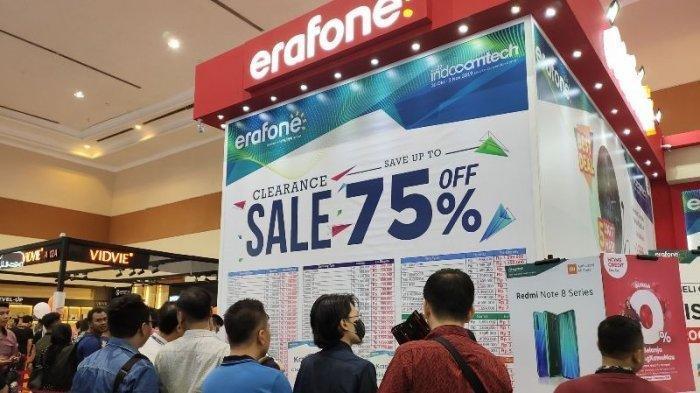 Di Indocomtech, Erafone Obral Ponsel dengan Harga Miring: Mulai Harga Rp 499.000