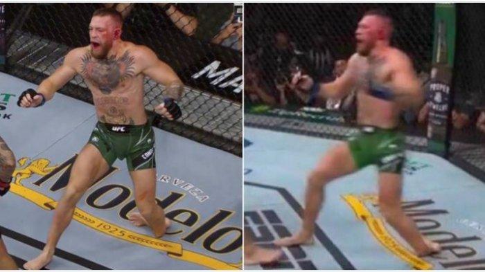 UFC 264: Kakinya Patah Saat Bertanding, Conor McGregor Kalah Lawan Dustin Poirier