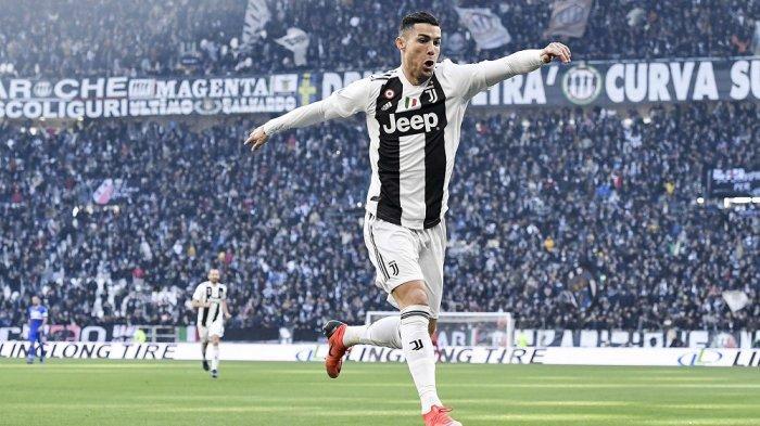 Ronaldo Bangga Juara Bersama Juventus di Musim Pertamanya