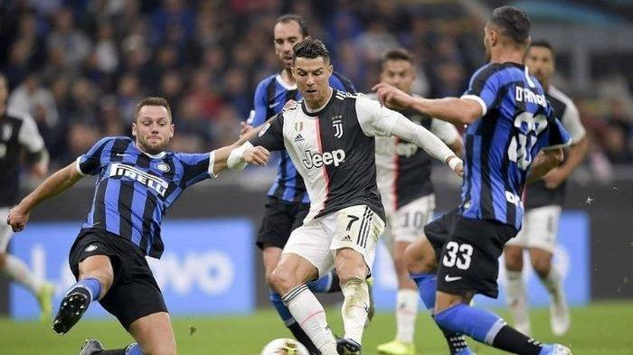 Hasil Liga Italia: Juventus Kalah 1-3 Lawan Lazio, Gol Cristiano Ronaldo Sia-sia
