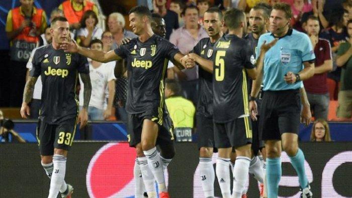 Jelang Inter Milan Vs Juventus, Pertemuan Duel Klasik Cristiano Ronaldo dan Diego Godin
