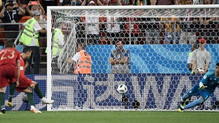 Ronaldo Gagal Eksekusi Penalti, Portugal Ditahan Imbang Iran