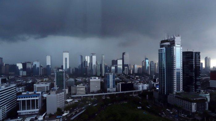 Waspada, BMKG Prakiraan Sebagian DKI Jakarta Bakal Diguyur Hujan Petir Rabu 24 Februari 2021