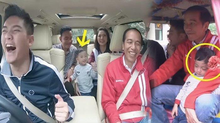 Sederet Momen Kebersamaan Boy William dengan Jokowi, Jan Ethes Sampai Ketiduran di Delman