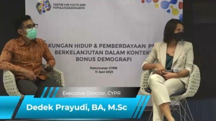 Peluncuran CYPR: Lingkungan Hidup & Pemberdayaan Pemuda Berkelanjutan dalam Konteks Bonus Demografi