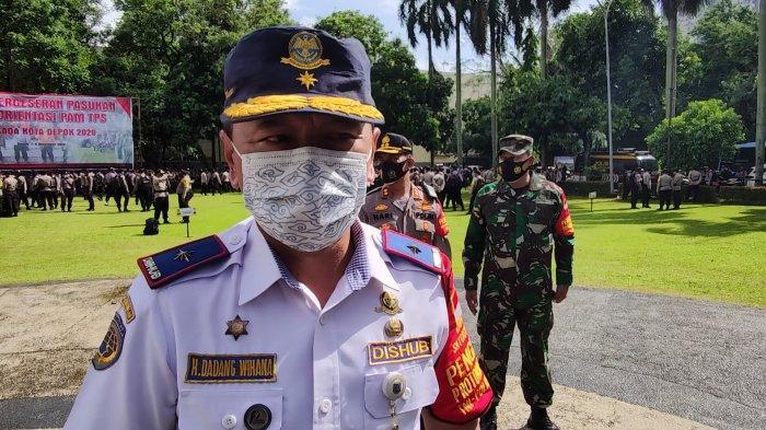 Juru Bicara Gugus Tugas Percepatan Penanganan Covid-19, Dadang Wihana. saat dijumpai wartawan di Balai Kota Depok, Selasa (8/12/2020).