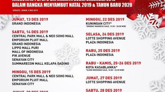 Wahai Sang Pemburu Diskon, Catat Daftar Midnight Sale Akhir Tahun di Jakarta