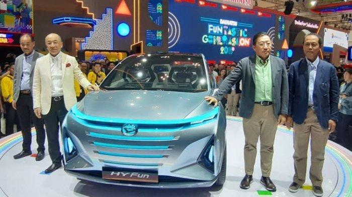 Sasar Anak Muda Daihatsu Pamerkan MPV Hy-Fun di GIIAS 2019, Bisa Tampung Sampai 6 Penumpang